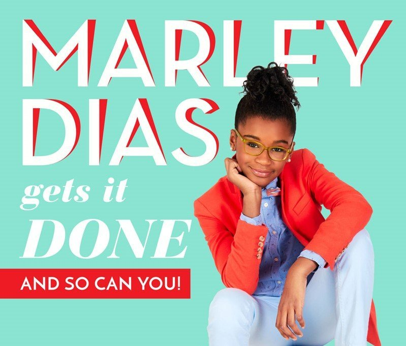 As the Youngest on Forbes' 30 Under 30 List, 13-Year-Old Marley Dias Definitely Gets It Done