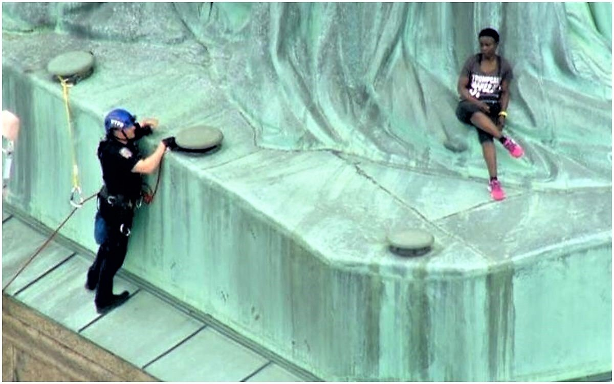 Tell It Tuesday: When All Else Fails, Climb the Statue of Liberty