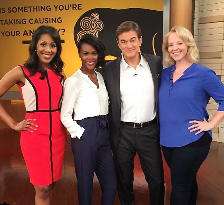 Nikki's on Dr. OZ Today Talking About What Stress & Anxiety Can Do to Your Hair