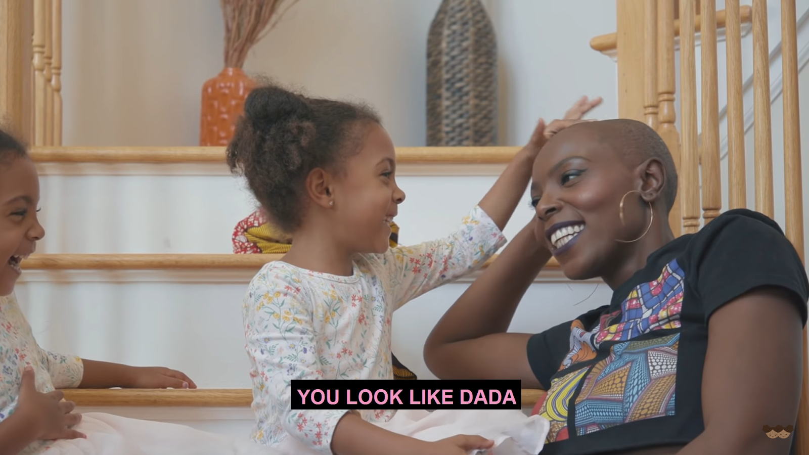 "Ami McClure Gets a Baddass Baldie & Teaches Her Girls That ""Hair Isn't Everything."""