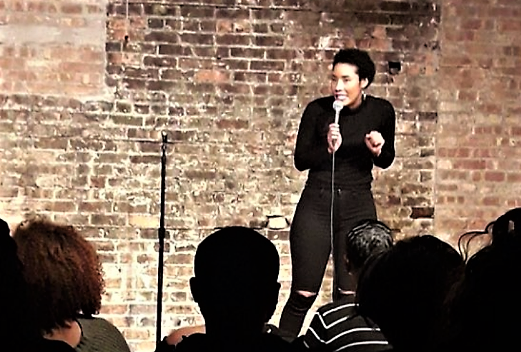 Rising Comedian Adrienne Brandyburg is Funny, Multi-talented and Naturally Glam!