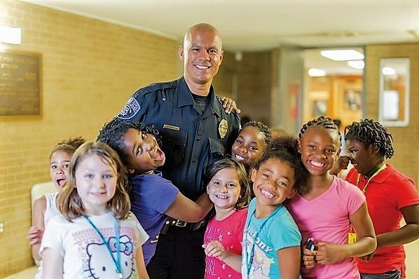 Meet the Police Officer Who Blew Up on Instagram Doing Good in His Community