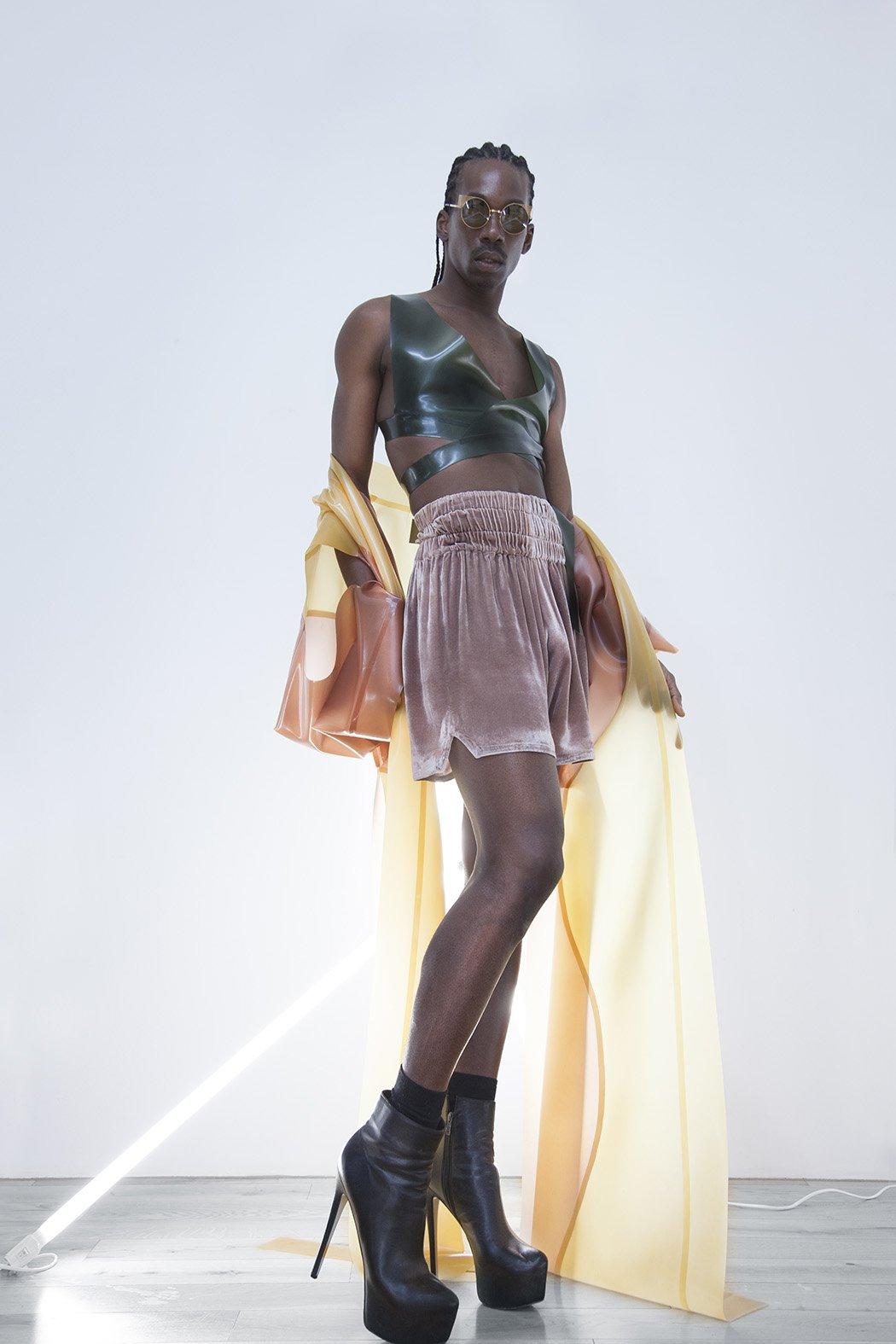 Caribbean-Born Dancer Kyle Patrick is Naturally Glam!