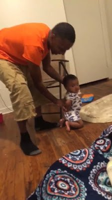 Folks Wanna Call CPS on Dad Pretending to Arrest His Baby