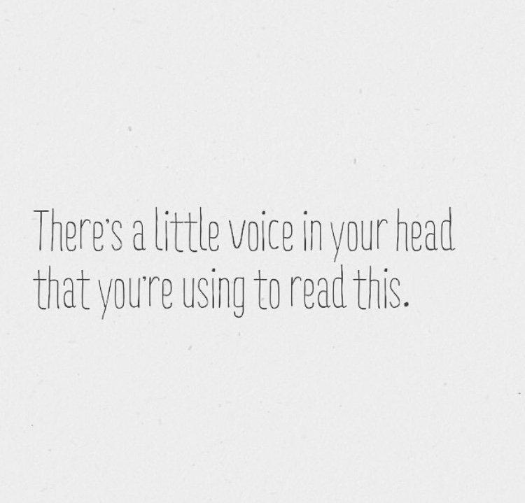 Don't Let Your Inner Voice Run Amok: #BeHerNow