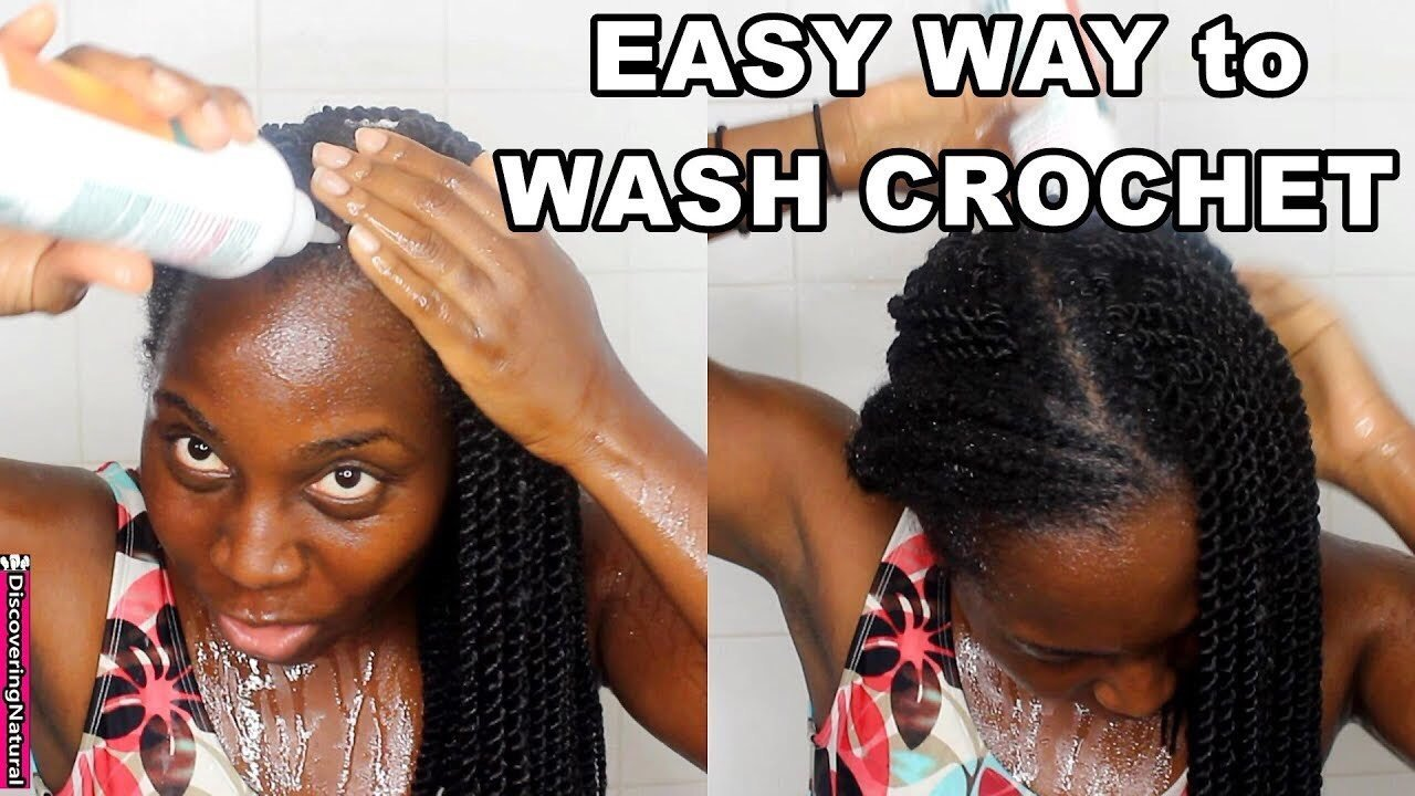 How to Wash Protective Braid Styles This Summer