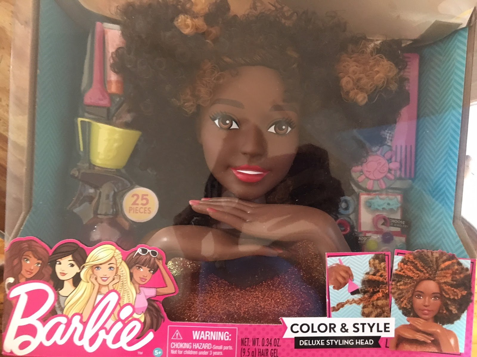 The Mattel Barbie Styling Head is Now Available. Here's How to Get It!