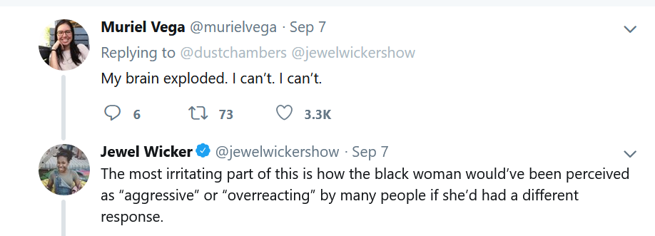 White Woman Gets Her Privilege Checked After Touching a Black Woman's Hair