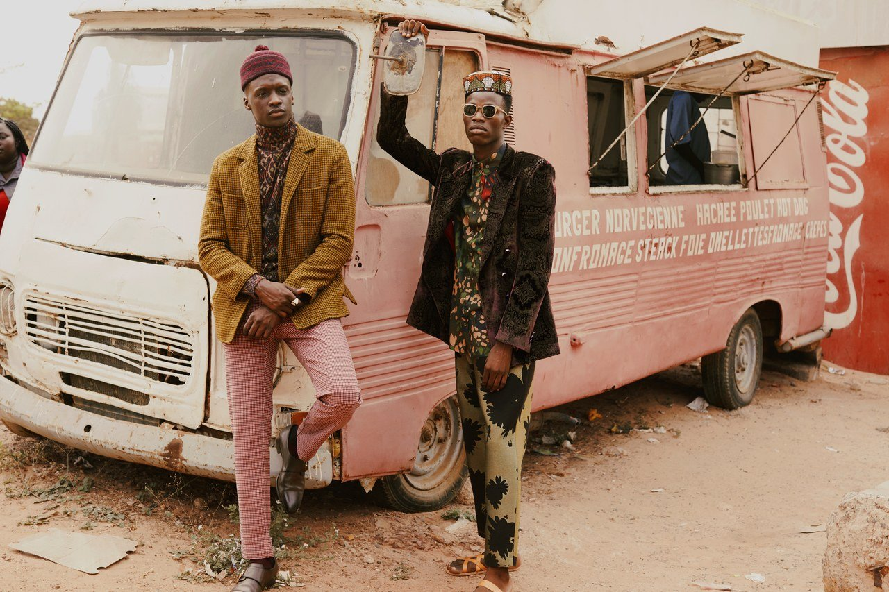 See Why the Streets of Senegal is the Perfect Backdrop for this Eye-Poppin' Fashion Shoot!