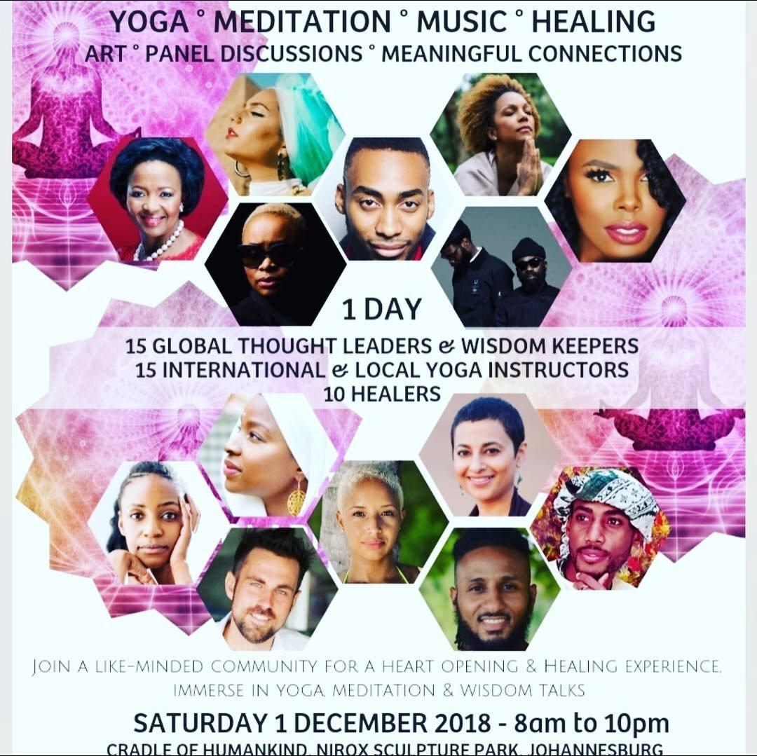 Meet Nikki at The Global Consciousness Summit 2018: South Africa (Dec 1)