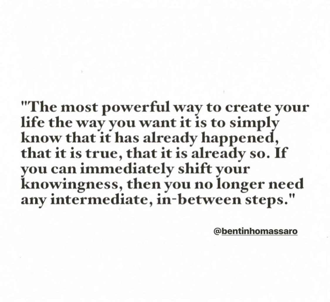 The Power of 'Already'
