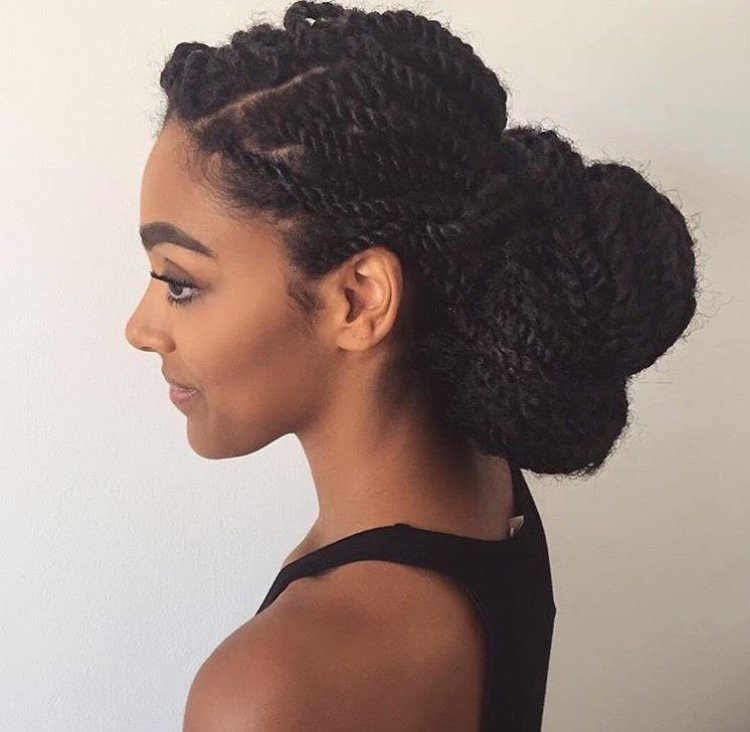 Detangling Natural Hair- Frequency and Length Retention