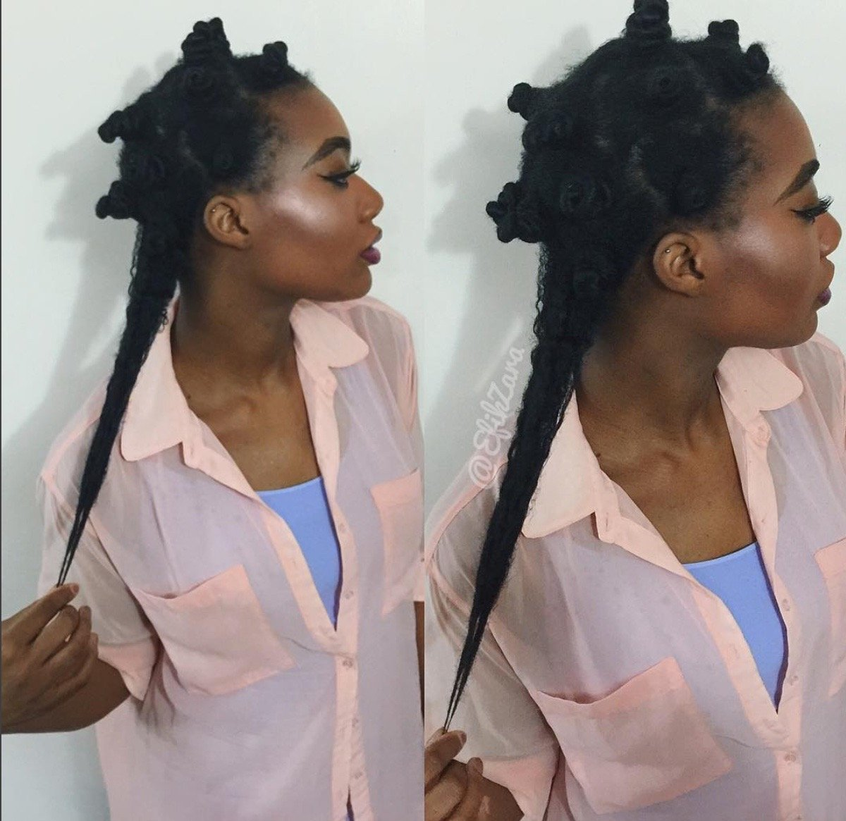 How I Achieved Long and Healthy Type 4 Natural Hair