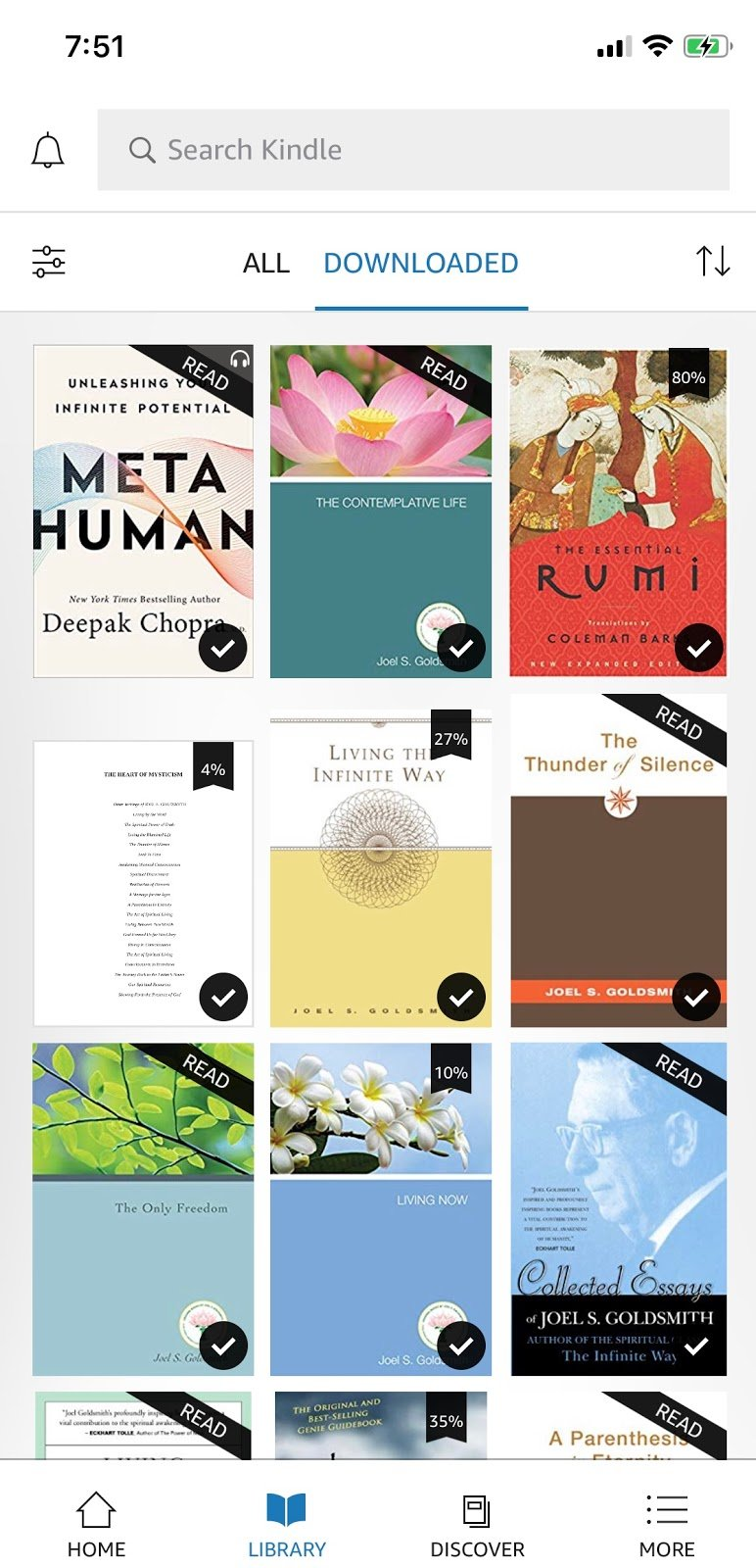Metahuman and Other Books I'm Reading This Week!