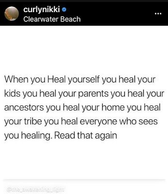 When You Heal Yourself You Heal The World