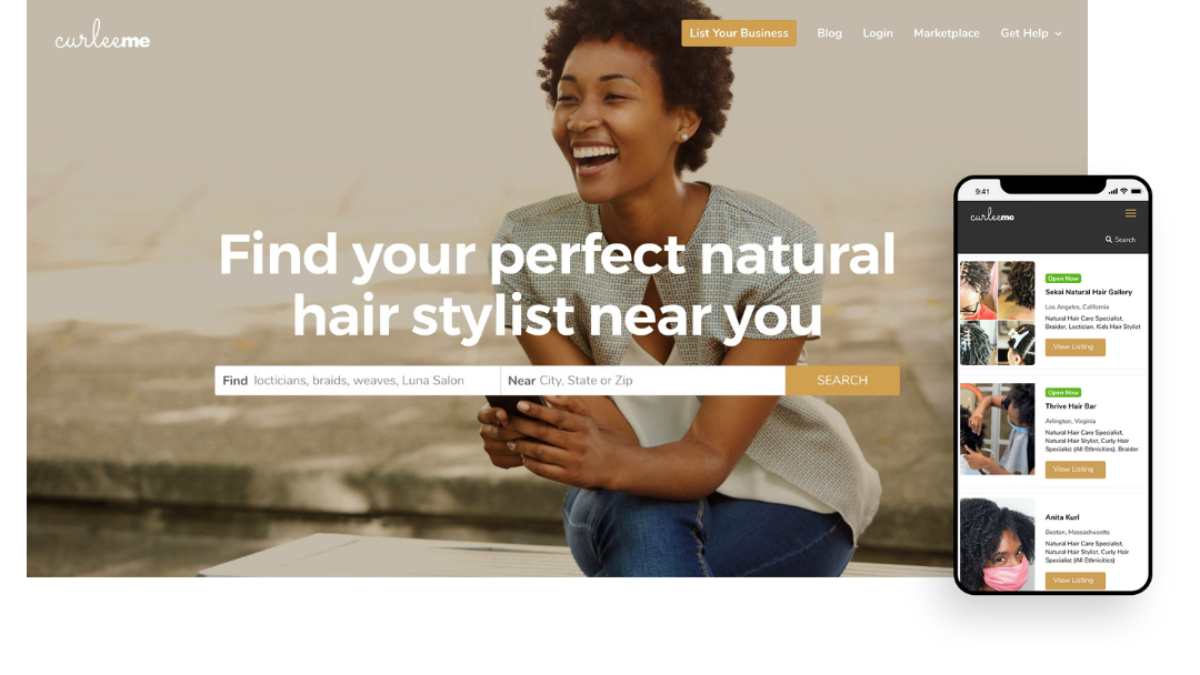 CurleeMe: A Hair Stylist Directory Launched for Our Beautiful Natural Hair!