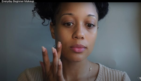 A Simple Everyday Makeup Routine for Brown Girls